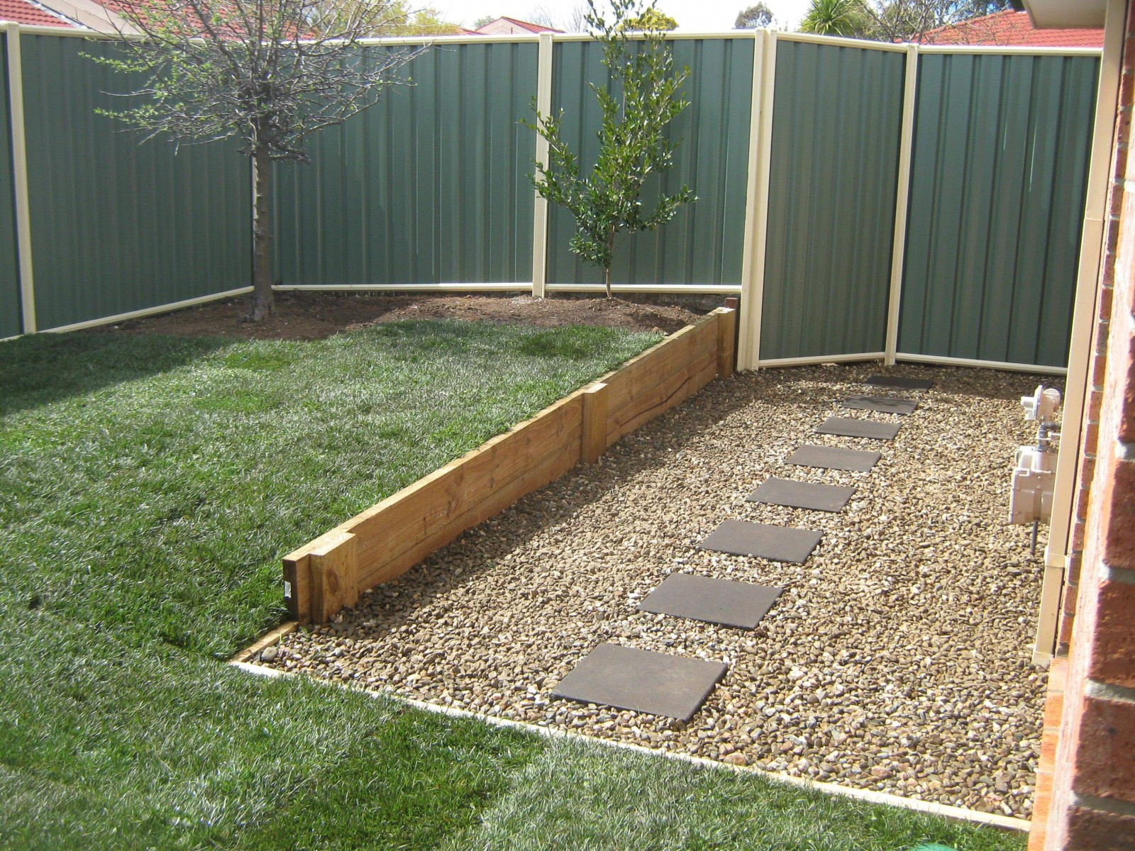 after image backyard landscaping