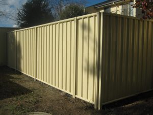 colourbond fence