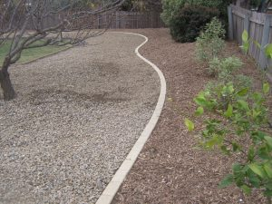 curved edging